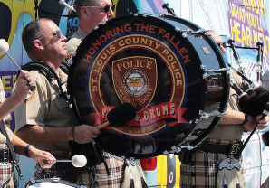 STL County Police Pipes - Drums